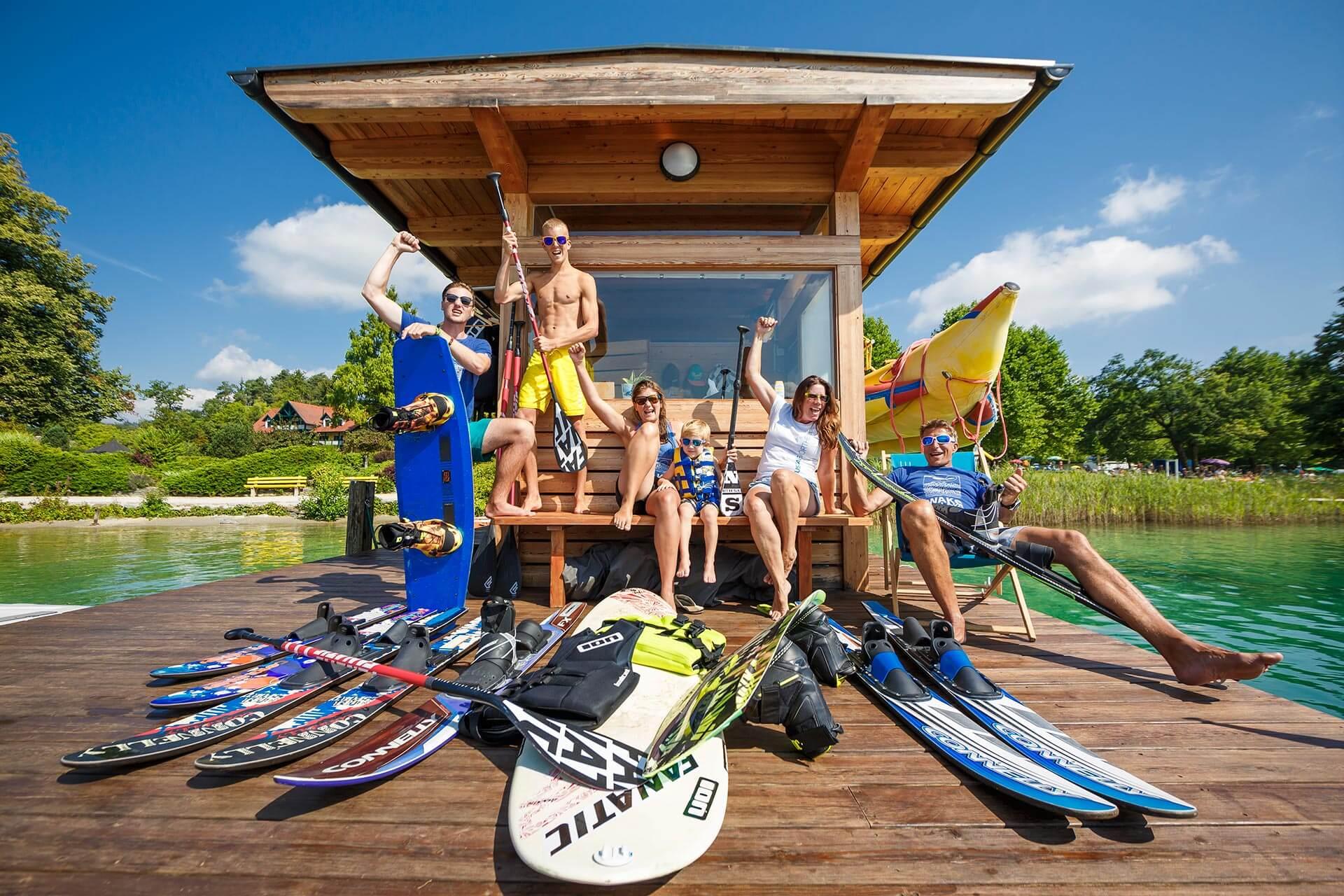 Teamfoto der SEEsport Wörthersee Crew
